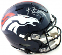 Champ Bailey Signed Broncos Full-Size Authentic On-Field SpeedFlex Helmet (Beckett Hologram) at PristineAuction.com