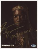 "Danai Gurira Signed ""The Walking Dead"" 8x10 Photo Inscribed ""Michonne""  (Beckett COA) at PristineAuction.com"
