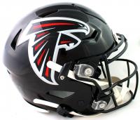 Julio Jones Signed Falcons Full-Size Authentic On-Field SpeedFlex Helmet (Beckett Hologram) at PristineAuction.com
