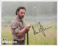 """Andrew Lincoln Signed """"The Walking Dead"""" 8x10 Photo (Beckett COA) (See Description) at PristineAuction.com"""