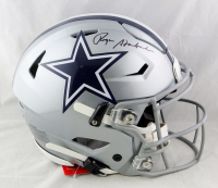 Roger Staubach Signed Cowboys Full-Size Authentic On-Field SpeedFlex Helmet (Beckett Hologram) at PristineAuction.com