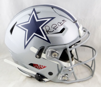 Michael Irvin Signed Cowboys Full-Size Authentic On-Field SpeedFlex Helmet (Beckett Hologram) at PristineAuction.com