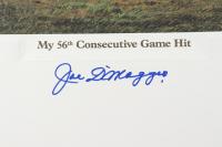 Joe DiMaggio Signed LE Yankees 23.5x27.5 Lithograph (PSA LOA) at PristineAuction.com