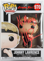 "William Zabka Signed ""Cobra Kai"" Johnny Lawrence #970 Funko Pop! Vinyl Figure Inscribed ""No Mercy!"" (JSA COA) at PristineAuction.com"