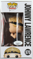 "William Zabka Signed ""Cobra Kai"" Johnny Lawrence #970 Funko Pop! Vinyl Figure Inscribed ""No Mercy!"" (JSA COA) at PristineAuction.com"