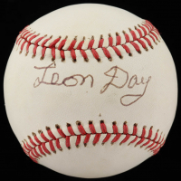 Leon Day Signed OAL Baseball (JSA COA) at PristineAuction.com