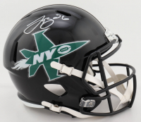 Le'Veon Bell Signed Jets Full-Size Speed Helmet (JSA COA) at PristineAuction.com