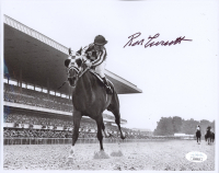 Ron Turcotte Signed 8x10 Photo (Beckett COA) (See Description) at PristineAuction.com