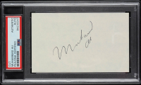 Muhammad Ali Signed 3x5 Cut (PSA Encapsulated) at PristineAuction.com