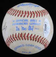 "Carl Yastrzemski Signed OAL Baseball Inscribed ""Enjoyed Working With You!"" (JSA COA) (See Description) at PristineAuction.com"