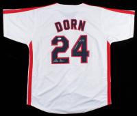 "Corbin Bernsen Signed Jersey Inscribed ""Dorn"" (JSA COA) at PristineAuction.com"