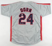 "Corbin Bernsen Signed Jersey Inscribed ""Dorn"" (JSA COA) at PristineAuction.com"