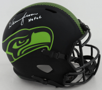 "Warren Moon Signed Seahawks Eclipse Alternate Speed Full-Size Helmet Inscribed ""HOF 06"" (Beckett COA) at PristineAuction.com"