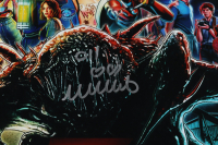"""Millie Bobby Brown Signed """"Stranger Things"""" 11x17 Photo Inscribed """"011"""" (Beckett COA) at PristineAuction.com"""