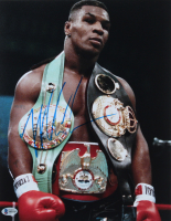 Mike Tyson Signed 11x14 Photo (Beckett COA) at PristineAuction.com