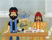 "Tommy Chong & Cheech Marin Signed ""Cheech & Chong's Animated Movie"" 11x14 Photo (JSA COA) at PristineAuction.com"