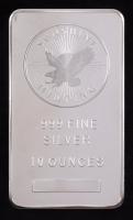 10 Troy Oz .999 Fine Silver Sunshine Minting Bullion Bar at PristineAuction.com