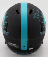 "Ricky Williams Signed Dolphins Full-Size Eclipse Alternate Speed Helmet Inscribed ""Smoke Weed Everyday!"" (Beckett COA) (See Description) at PristineAuction.com"