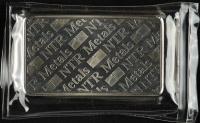 10 Troy Oz .999 Fine Silver NTR Metals Bullion Bar at PristineAuction.com