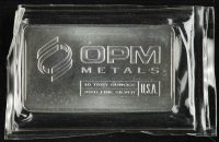 10 Troy Oz .999 Fine Silver OPM Metals Bullion Bar at PristineAuction.com