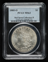1885-O Morgan Silver Dollar - McClaren Collection II (PCGS MS63) at PristineAuction.com