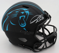 Greg Olson Signed Jaguars Eclipse Alternate Speed Full-Size Helmet (Beckett COA) (See Description) at PristineAuction.com