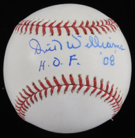 "Dick Williams Signed OML Baseball Inscribed ""H.O.F. 08"" (JSA COA) (See Description) at PristineAuction.com"