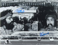 Tommy Chong & Cheech Marin Signed 11x14 Photo (JSA COA) at PristineAuction.com