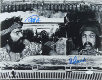 Tommy Chong & Cheech Marin Signed 11x14 Photo (JSA COA) (See Description) at PristineAuction.com