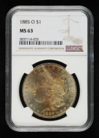 1885-O Morgan Silver Dollar (NGC MS63) (Toned) at PristineAuction.com