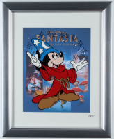 "Walt Disney's ""Fantasia"" 13x16 Custom Framed Hand-Painted Animation Serigraph Display at PristineAuction.com"