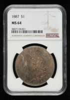 1887 Morgan Silver Dollar (NGC MS64) (Toned) at PristineAuction.com