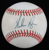 Nolan Ryan Signed ONL Baseball (JSA COA) (See Description) at PristineAuction.com
