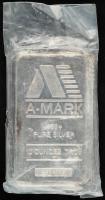 10 Troy Oz .999 Fine Silver A-Mark Bullion Bar at PristineAuction.com