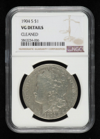 1904-S Morgan Silver Dollar (NGC VG Details) at PristineAuction.com