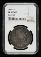 1883-O Morgan Silver Dollar (NGC AU Details) at PristineAuction.com