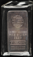10 Troy Oz .999 Fine Silver Engelhard Bullion Bar at PristineAuction.com