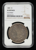 1885 Morgan Silver Dollar (NGC XF Details) at PristineAuction.com