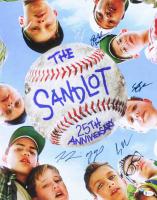 """The Sandlot"" 16x20 Photo Cast-Signed by (5) with Tom Guiry, Marty York, Shane Obedzinski, Chauncey Leopard, & Brandon Adams Inscribed ""DeNunez"" (Beckett Hologram) (See Description) at PristineAuction.com"