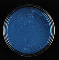 2020 China Moon Panda 12g Blue Titanium Medal at PristineAuction.com