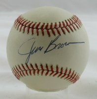 Jim Brown Signed OAL Baseball (JSA Hologram) at PristineAuction.com
