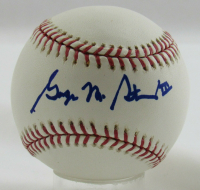 George Steinbrenner Signed OML Baseball (Steiner Hologram) at PristineAuction.com