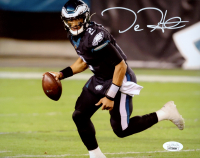 Jalen Hurts Signed Eagles 8x10 Photo (JSA COA) at PristineAuction.com