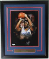 Joel Embiid Signed 76ers 18x22 Custom Framed Photo Display (JSA Hologram) at PristineAuction.com