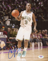 Chris Paul Signed Hornets 8x10 Photo (PSA COA) at PristineAuction.com