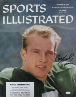 "Paul Hornung Signed Notre Dame Fighting Irish 16x20 Photo Inscribed ""56 Heisman"" (JSA COA) at PristineAuction.com"