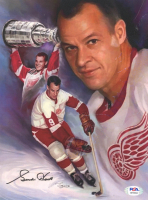 Gordie Howe Signed Red Wings 8x10 Photo (PSA COA) at PristineAuction.com
