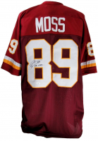 "Santana Moss Signed Jersey Inscribed ""10K Club"" (JSA COA) at PristineAuction.com"