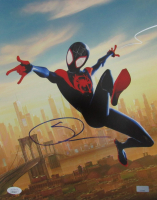 "Shameik Moore Signed ""Spider-Man"" Marvel Comics 11x14 Lithograph Print (JSA COA) at PristineAuction.com"