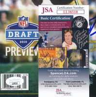 Bart Starr Signed Packers 8x10 Magazine Page (JSA COA) at PristineAuction.com